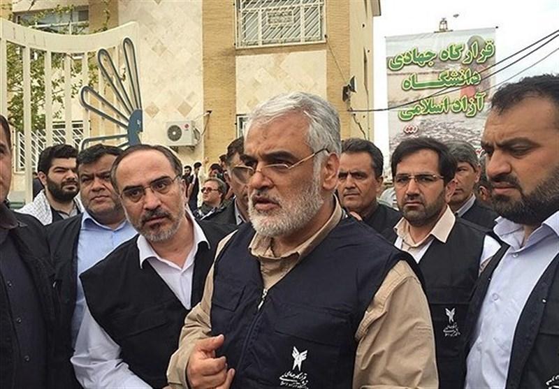 طهرانچی در پلدختر: قرارگاه جهادی دانشگاه آزاد در لرستان و خوزستان فعال است