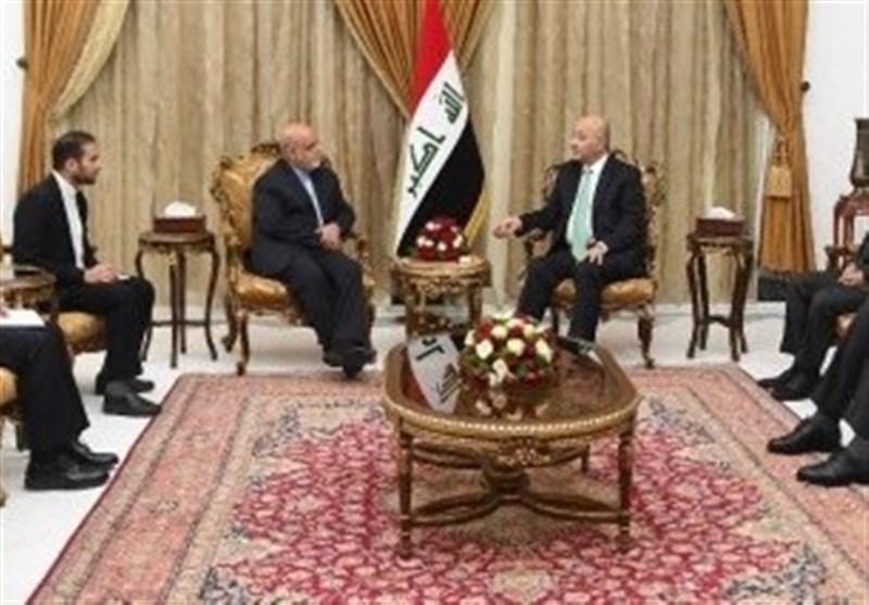 برهم صالح به سفیر ایران چه گفت؟