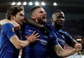 لیگ اروپا|چلسی و آرسنال با پیروزی نیمی از راه صعود به نیمه نهایی را طی کردند/ والنسیا فاتح دربی خارج از خانه شد