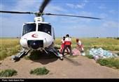 اهواز 1500 تن کمکهای مردمی برای سیلزدگان از طریق راه هوایی منتقل شده است