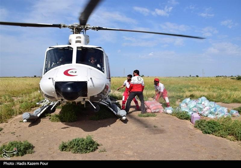 اهواز|۱۵۰۰ تن کمکهای مردمی برای سیلزدگان از طریق راه هوایی منتقل شده است