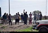 حضور جوانان لبنانی در مناطق سیل زده خوزستان + فیلم