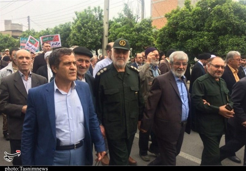 Rallies Held in Iran in Support of IRGC