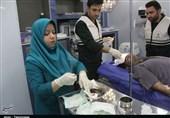 خدمترسانی مجهزترین بیمارستان صحرایی سپاه به سیلزدگان پلدختر+ تصاویر