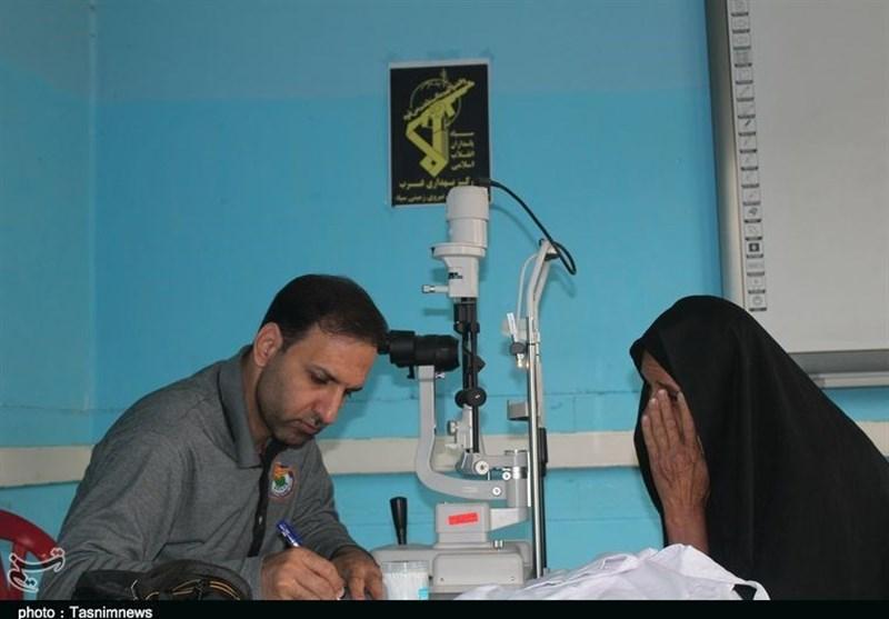 بیمارستان صحرایی سپاه در منطقه سیلزده سیستان و بلوچستان افتتاح شد