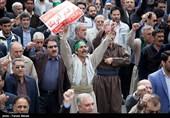 کهگیلویه و بویراحمدیها در حمایت از بیانیه شورای عالی امنیت ملی راهپیمایی کردند