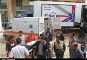 تداوم خدماترسانی بیمارستان صحرایی ارتش به سیلزدگان آققلا؛ نیروهای مسلح در کنار مردم حضور دارند