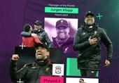 فوتبال جهان|مانه و کلوپ، برترینهای ماه مارس لیگ برتر انگلیس