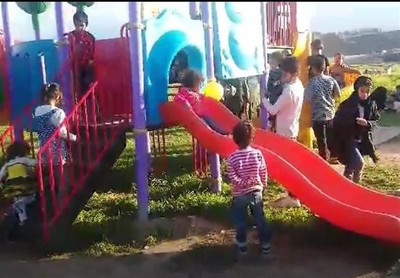 فیلم/ امید به زندگی در پلدختر؛ حضور خانوادهها در پارکها