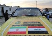 ورود کاروان امدادی «نجباء» به ایران برای کمک به سیلزدگان+تصاویر