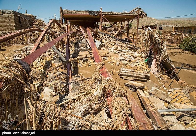 «چممهر» پلدختر روستایی که زیر گلولای سیل دفن شد + فیلم