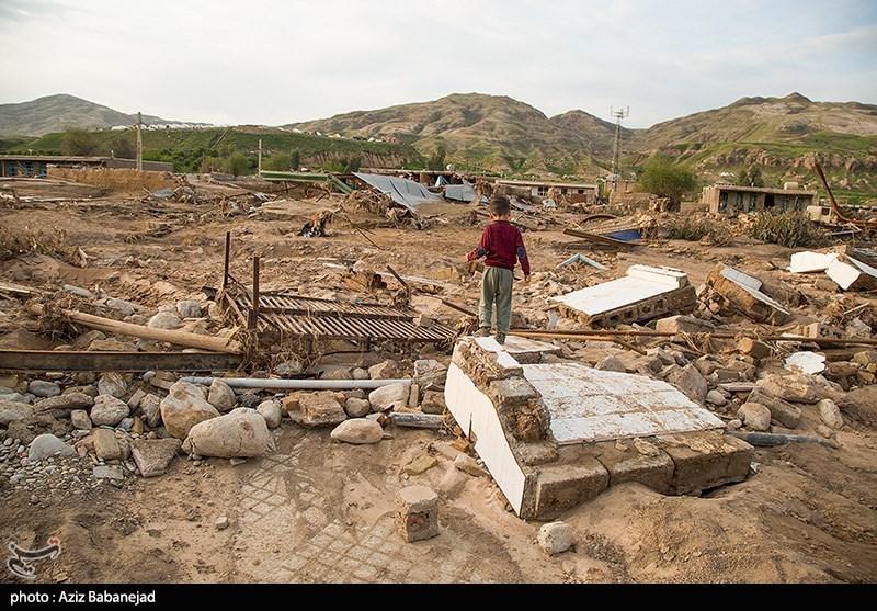 6 روستای سیل زده پلدختر دیگر قابل سکونت نیست؛ جابجایی روستاها