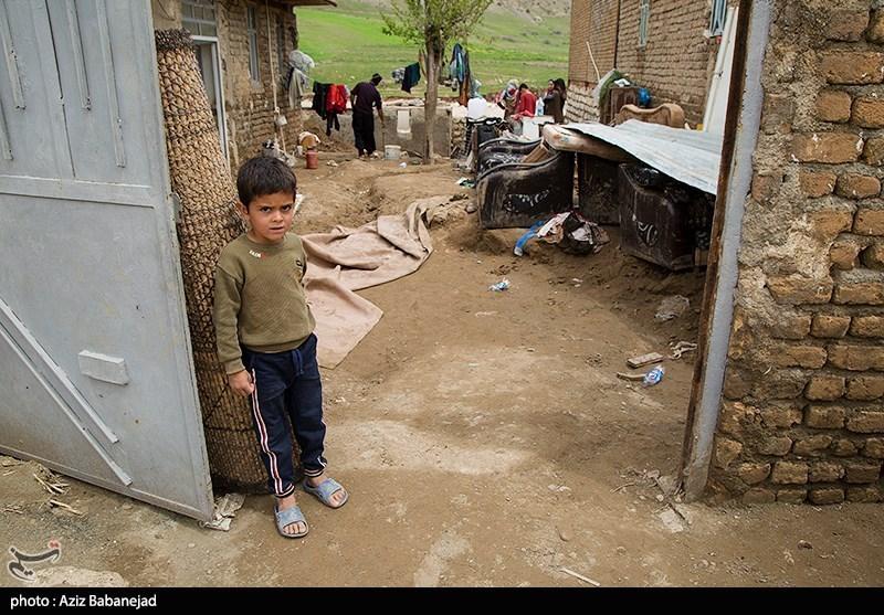 خسارات سیل در روستای شاهیوند- پلدختر