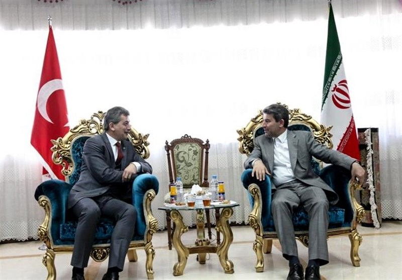 ارومیه  سفیر ترکیه: خواهان ارتقای روز افزون مراودات اقتصادی با ایران هستیم
