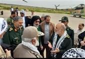 دیدار صمیمی برخی سران عشایر با جانشین فرمانده کل سپاه و بازدید هوایی از هورالعظیم+ تصاویر
