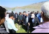 بازدید استاندار آذربایجان شرقی از مناطق سیل زده استان ایلام+تصاویر