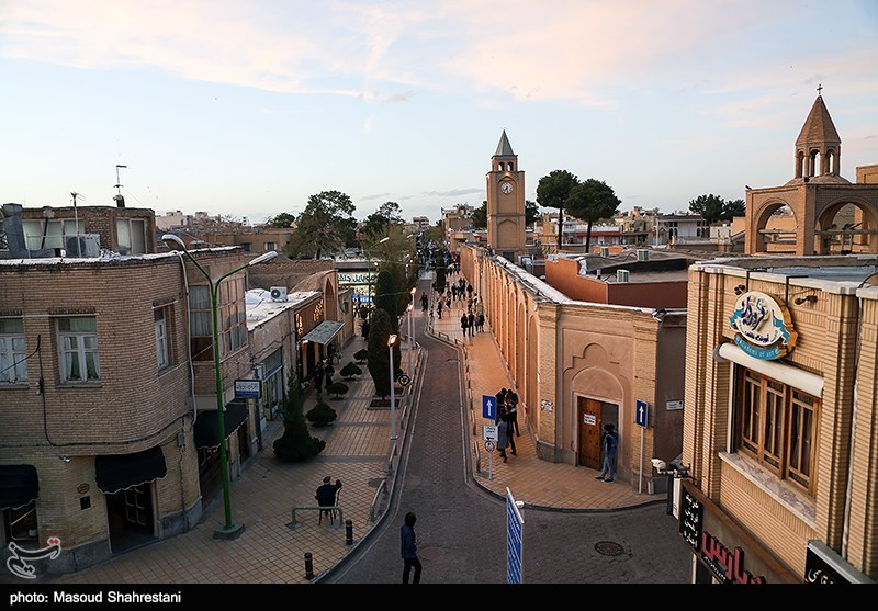 New Julfa: The Armenian Quarter of Isfahan, Iran