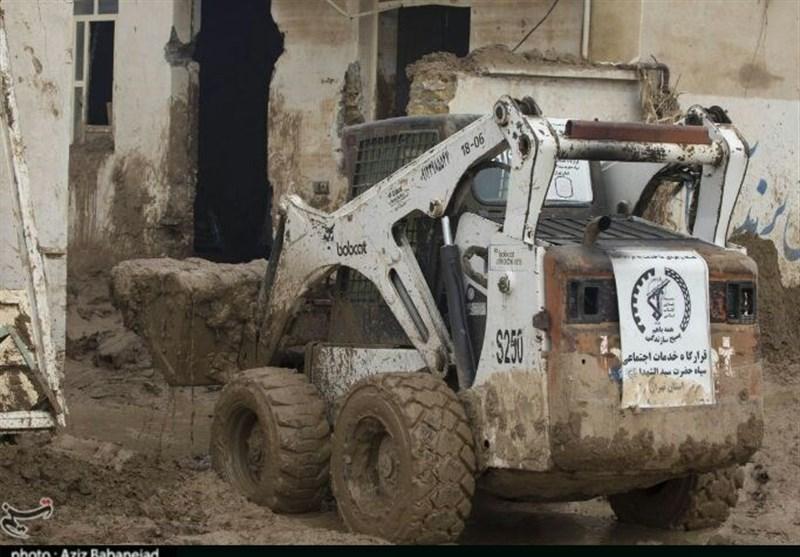 سردار پاکپور: با تمام امکانات در کنار سیلزدگان میمانیم