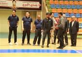 بازدید نمایندگان AFC از سالن پورشریفی تبریز