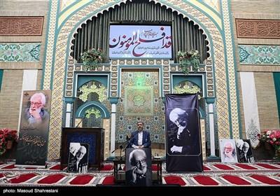 سخنرانی حمید شاه آبادی معاون صدای سیما در مراسم ترحیم مرحوم جمشید مشایخی