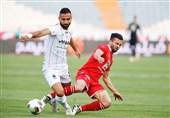 لیگ برتر فوتبال| تساوی پرسپولیس و سایپا در نیمه اول