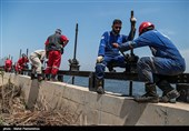 اعزام 2100 نفر کارگر بسیجی در قالب تیم های جهادی به مناطق سیل زده