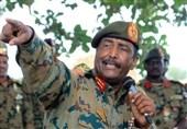 دیدار رئیس شورای انتقالی نظامی سودان با هیئتی سعودی- اماراتی