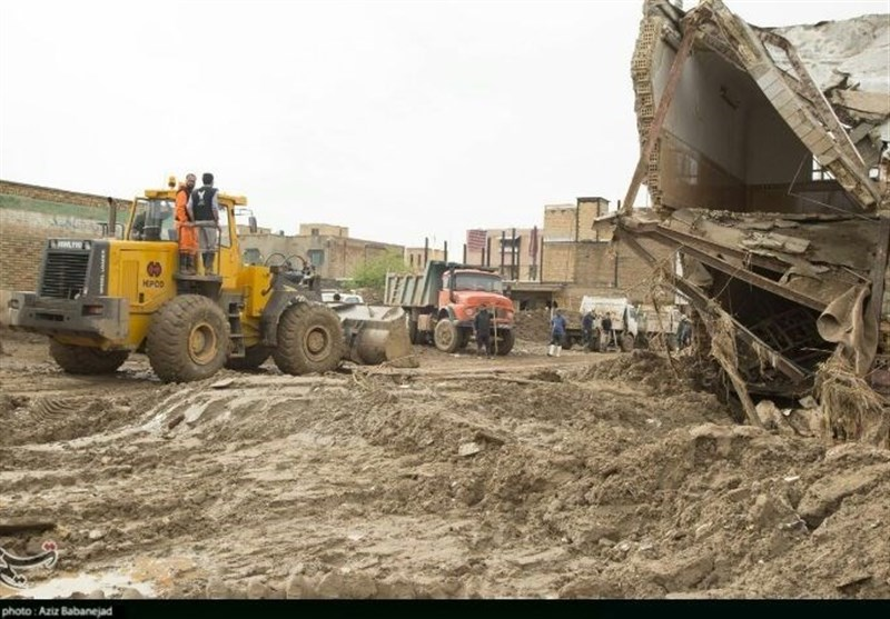 لرستان| آواربرداری 1940 واحد مسکونی در شهر پلدختر