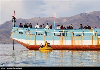 دریاچه ارومیه اکنون به لحاظ وسعت و تراز سطح آب ، در بهترین وضعیت خود طی 6 سال گذشته قرار دارد