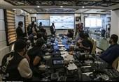بازدید خبرنگاران از مرکز مانیتورینگ سدها و ایستگاههای آب و برق خوزستان+ تصاویر