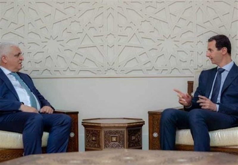 دیدار الفیاض با رئیسجمهور سوریه/ تاکید اسد بر اهمیت همکاری بغداد-دمشق