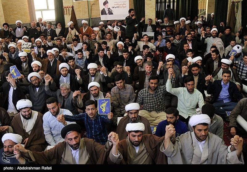 قم|تجمع بزرگ طلاب همدان در محکومیت شهادت طلبه همدانی برگزار میشود