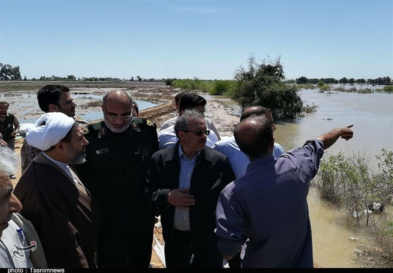 حضور نماینده ولیفقیه در استان کرمان در حمیدیه خوزستان به روایت تصویر