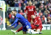 فوتبال جهان| حرکت زشت فابینیو پس از خطا روی اِزار + عکس