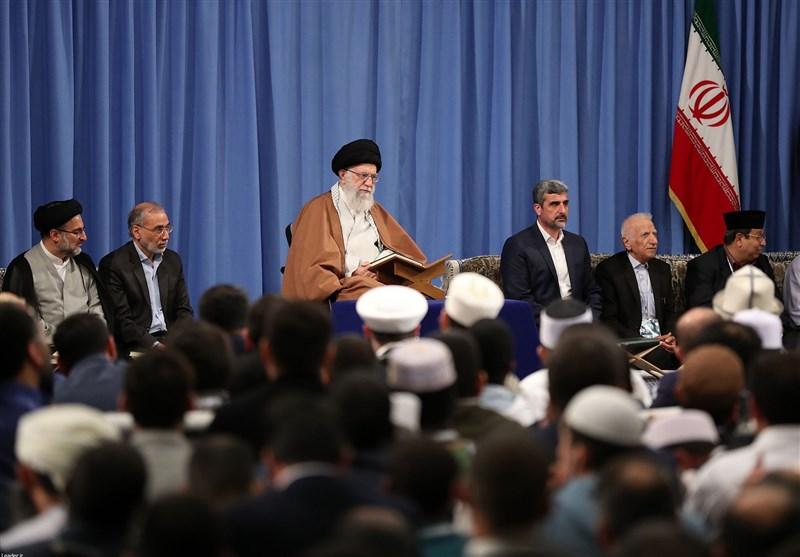 امام خامنهای: بسیاری از سران کشورهای عربی نوکر کفّار هستند