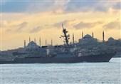 کشتیهای روسیه فعالیت ناوشکن آمریکایی در دریای سیاه را زیر نظر دارند