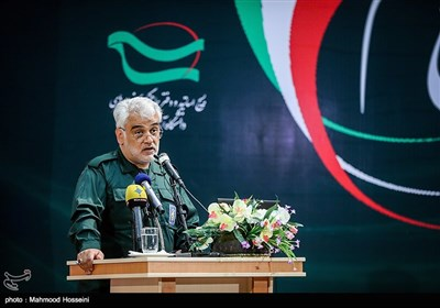 سخنرانی محمدمهدی طهرانچی رئیس دانشگاه آزاد اسلامی در همایش من یک سپاهی ام در سازمان مرکزی دانشگاه آزاد اسلامی