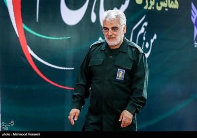محمدمهدی طهرانچی رئیس دانشگاه آزاد اسلامی در همایش من یک سپاهی ام در سازمان مرکزی دانشگاه آزاد اسلامی