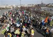 Environmentalists Block London's Financial Center