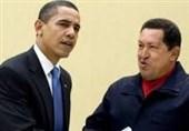 هدیه چاوز به اوباما در نمایشگاه کتاب تهران