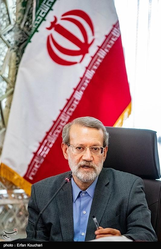 علی لاریجانی رئیس مجلس شورای اسلامی در جلسه مشترک دولت و مجلس با موضوع حمایت از تولید ملی