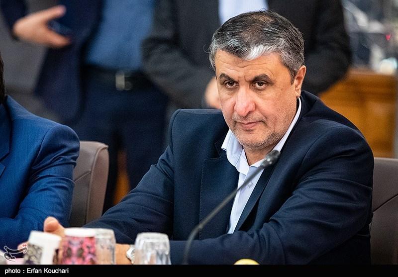 محمد اسلامی وزیر راه و شهرسازی در جلسه مشترک دولت و مجلس با موضوع حمایت از تولید ملی