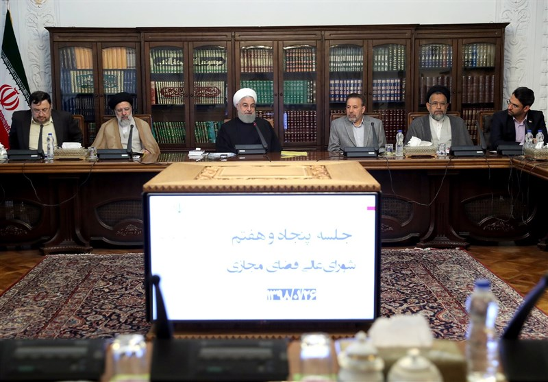 نشست شورای عالی فضای مجازی برگزار شد+تصاویر