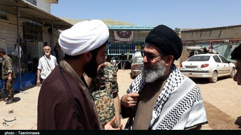 حضور معاون حشدالشعبی عراق در شهر سیلزده پلدختر