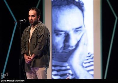 رضا امیرخانی در آیین اختتامیه هفته هنر انقلاب اسلامی