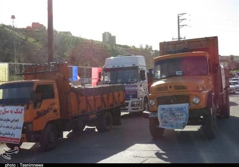 سپاه کهگیلویه و بویراحمد 500 خانوار در مناطق سیلزده را تحت پوشش قرار میدهد