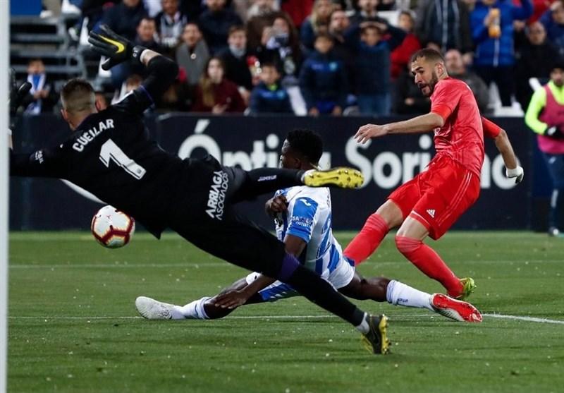 فوتبال جهان|رئال مادرید با تساوی از رده دوم جدول دور شد