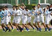 برگزاری تمرین استقلال در دو گروه و تمرین اختصاصی غفوری و طارق