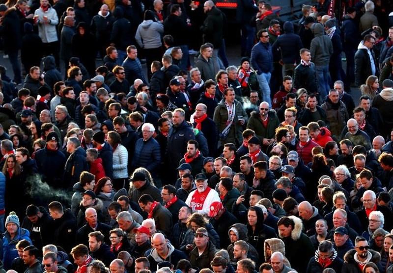 فوتبال جهان| ممانعت پلیس ایتالیا از ورود 54 هوادار مسلح آژاکس به تورین