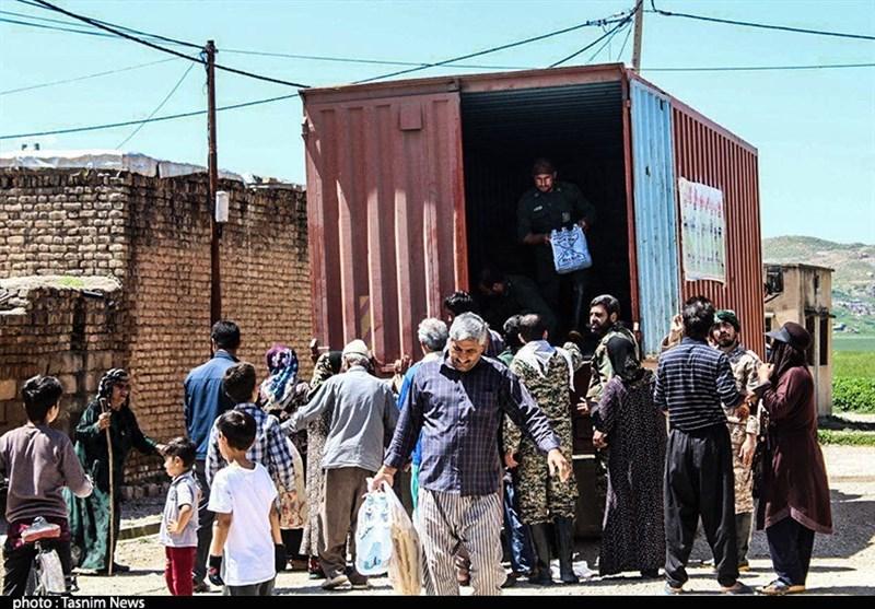 کمکهای مردم آران و بیدگل برای مردم سیل زده خوزستان+تصاویر